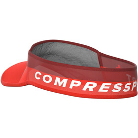 Compressport Ultralight Visir, red
